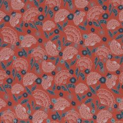Viscose mable rouge