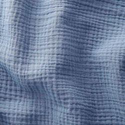 Double gaze bleu jean