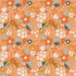 Jersey bio flowers abricot