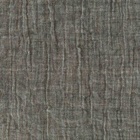 Double gaze chambray graphite