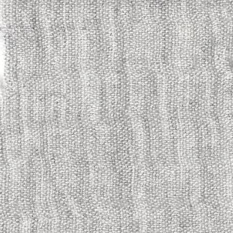 Double gaze chambray gris perle