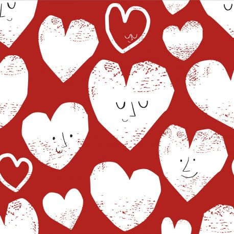 Sweat molletonné hearts coord