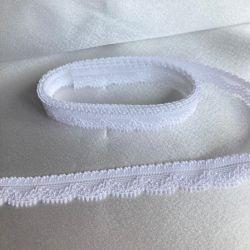 Bande dentelle de Calais 15 mm blanc
