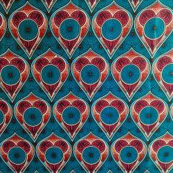 Wax love turquoise/fuchsia