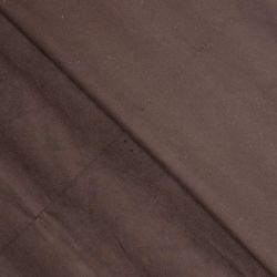 Velours lisse stretch chocolat