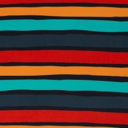 Softshell imprimé stripes