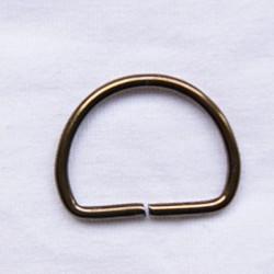 Anneaux D 25X22 bronze