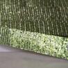 Galon à paillettes thermocolant vert