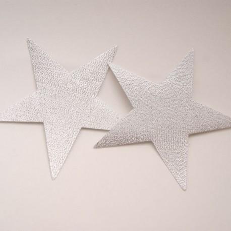 Motif étoile argent