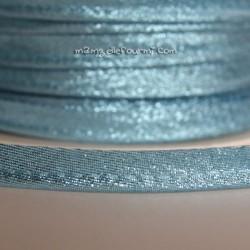 Passepoil scintillant bleu ciel