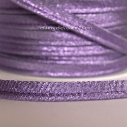 Passepoil scintillant violet