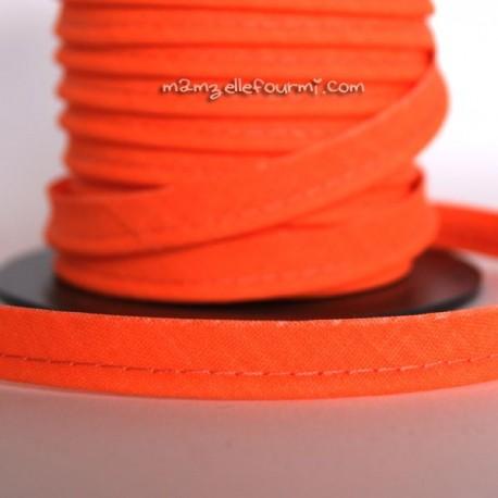 Passepoil fluo orange flashy