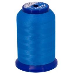 Fil mousse bleu persan 205