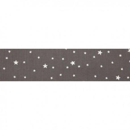 Biais première étoile poivre gris