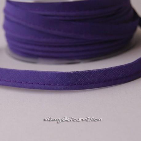 Passepoil uni violet
