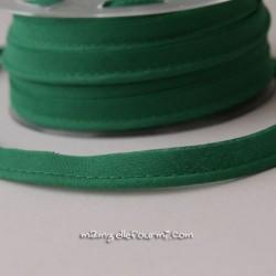 Passepoil uni vert chlorophylle