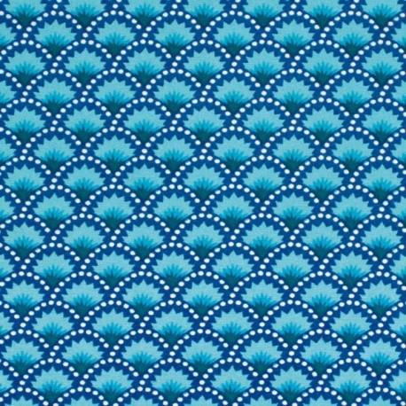 Coton wasabi bleu