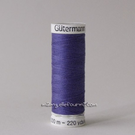 Fil Gütermann 200m blueberry