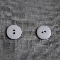 Bouton pointillé gris