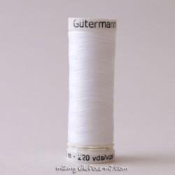 Fil Gütermann 500m blanc