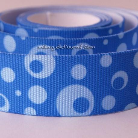 Sangle bubble bleue