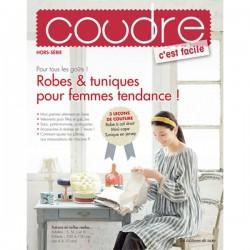 Hors série n°7 Coudre c'est facile - Robes et tuniques pour femmes tendance