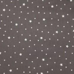 Imprimé Première Étoile poivre gris