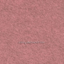 Feutrine rose camay