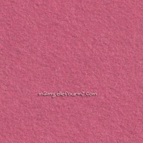 Feutrine rose anglais