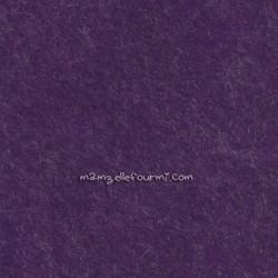 Feutrine violet chiné