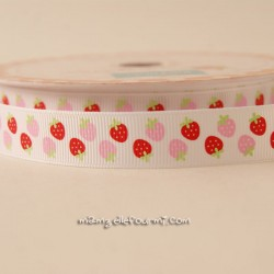 Ruban Riley Blake fraises