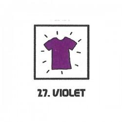 Teinture textile violet