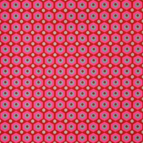 Coton mikko rouge