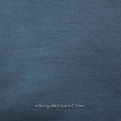 Jersey bio stretch gris/bleu