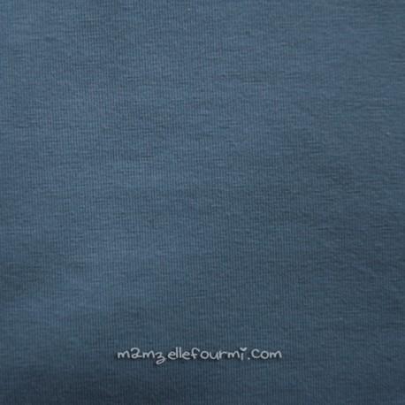 Jersey bio stretch gris bleu
